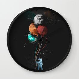 THE ASTRONAUTS PARTY Wall Clock