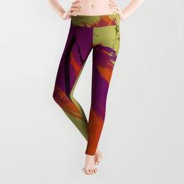 Legends, Abstract Watercolor Brushstrokes Leggings