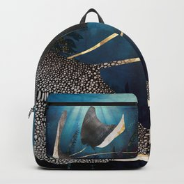 Metallic Stingray Backpack