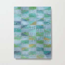 A Light Summer Rain Metal Print