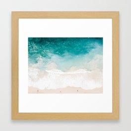 Pai'a Hawaii Beach Shot Framed Art Print