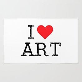 I love art Rug
