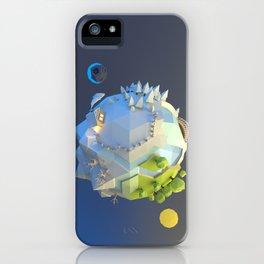 Tiny planet iPhone Case