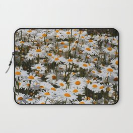 A Field of Oxeye Daisies Laptop Sleeve