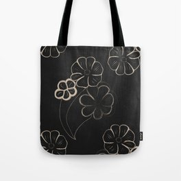 Light Sepia Flower Pattern #1 #drawing #decor #art #society6 Tote Bag
