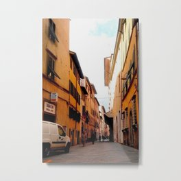 Italy In A View: Postcard From Lucca Metal Print
