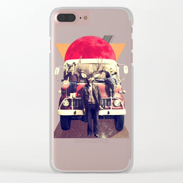 El Camion Clear iPhone Case