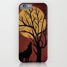 Full Moon/red Slim Case iPhone 6s