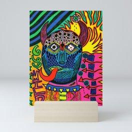 666 Wild Mini Art Print