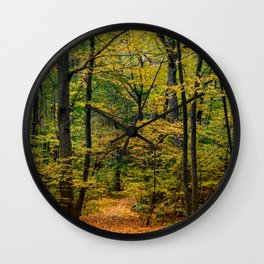 October Forest 3 Wall Clock