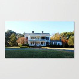 Plantation Mansion Canvas Print