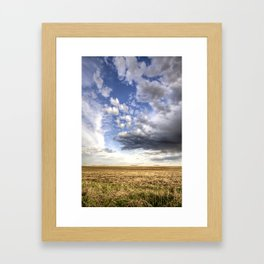 Flatlands Framed Art Print
