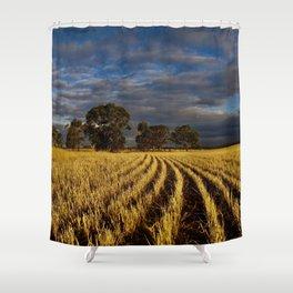 Golden Harvest Shower Curtain