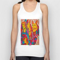 rabbits Tank Tops featuring - rabbits - by Magdalla Del Fresto