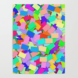 Abstract Cards 2 Poster