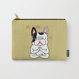Namaste French Bulldog Carry-All Pouch