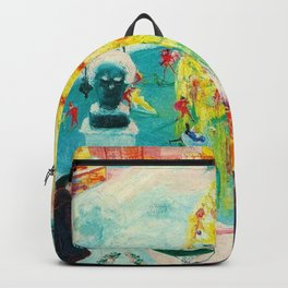 New York City, Winter Time Portrait by Florine Stettheimer Backpack