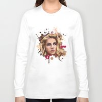 lana Long Sleeve T-shirts featuring Lana by Devis Pederzini