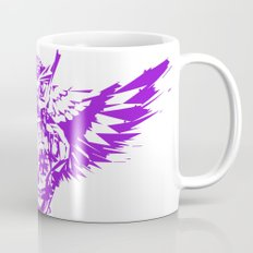 SUGAR SKULL OWL PURPLE  Mug