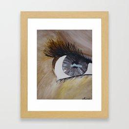 eye spy  Framed Art Print