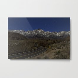 Mount Whitney Stars Metal Print