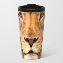 Wild Cat Glare Travel Mug