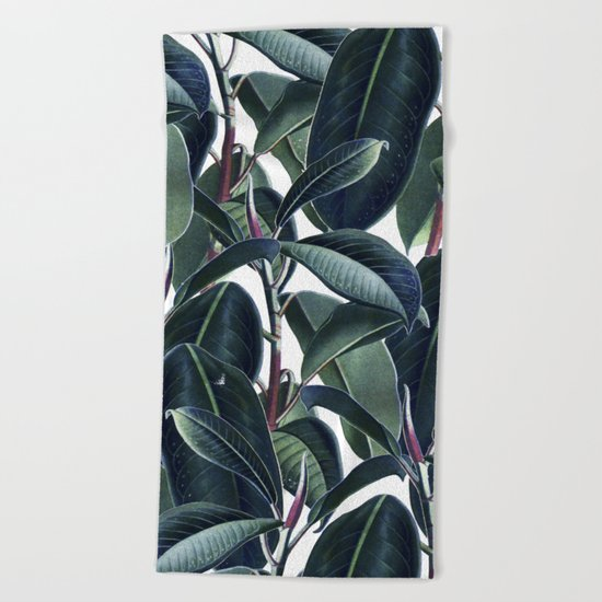 Rubber & Glue #society6 #decor #buyart Beach Towel