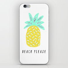 BEACH PLEASE iPhone & iPod Skin