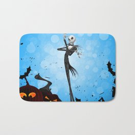 Jack Skellington- nightmare Bath Mat