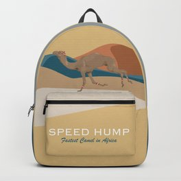 Speed Hump - Fastest Camel in Africa Backpack
