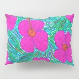 Hawaii Dreams Hibiscus Print Pillow Sham