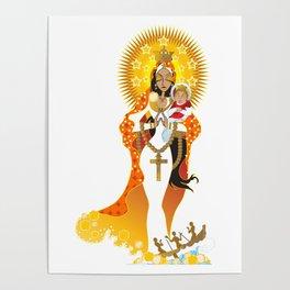 La Virgen de la Caridad del Cobre Poster