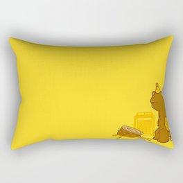 Birthday Bear Rectangular Pillow