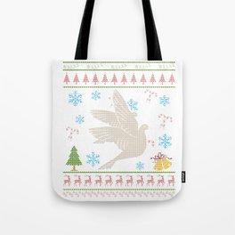 Dove Hunting Christmas Ugly Holiday Shirt Tee Tote Bag