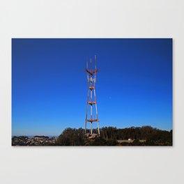 Sutro Tower-horizontal Canvas Print