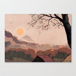 Landscape The legend of Zelda Canvas Print