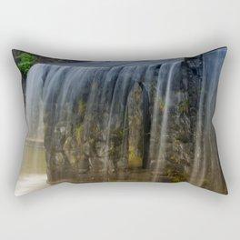 Rushing Waterfall Rectangular Pillow