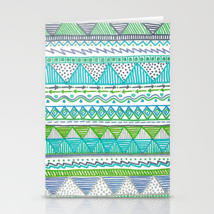 Ocean T Stationery Cards
