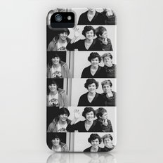 One Direction - Louis Tomlinson, Harry Styles, and Niall Horan - B&W iPhone (5, 5s) Slim Case