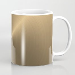 Circular metal brushed texture Coffee Mug