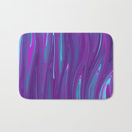 Pink, Purple, and Blue Waves 2 Bath Mat