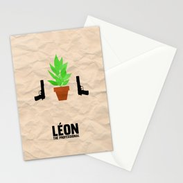 Leon the Professional Stationery Cards