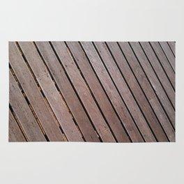 Wood Pattern Rug