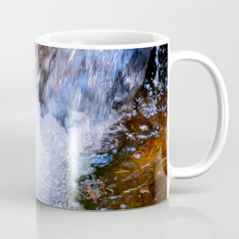 Running Water Of A Forest Spring Coffee Mug