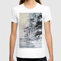 singapore T-shirts featuring Singapore II by Kasia Pawlak