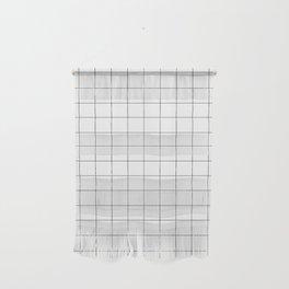 White Grid  /// www.pencilmeinstationery.com Wall Hanging