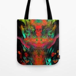 Atomic Psychedelia Tote Bag