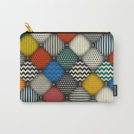 buttoned patches Carry-All Pouch