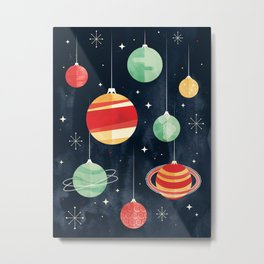 Joy to the Universe Metal Print