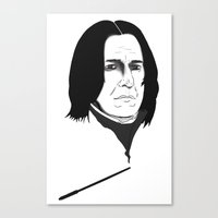 snape Canvas Prints featuring Snape by Nathan Dallesasse